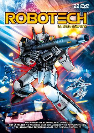 robotech. la saga completa (serie + pelicula) (dvd)-8421394540378