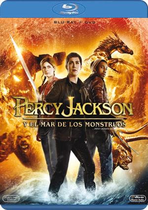 percy jackson y el mar de los monstruos (blu-ray+dvd)-8420266969088