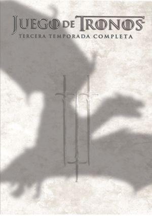 juego de tronos: tercera temporada completa (estuche plastico) (dvd)-5051893168877