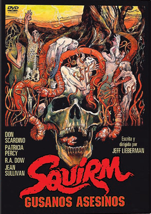 squirm. gusanos asesinos (dvd)-8436022316539