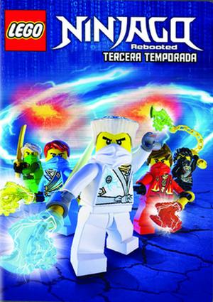 Lego Ninjago Rebooted Temporada 3 Dvd De 5051893222524