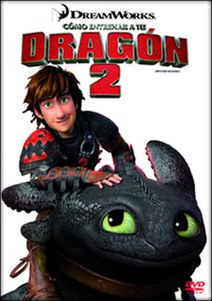 como entrenar a tu dragon 2 (dvd)-8420266976512