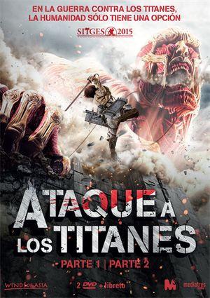 ataque a los titanes: parte 1 y 2 (dvd)-8437012592858