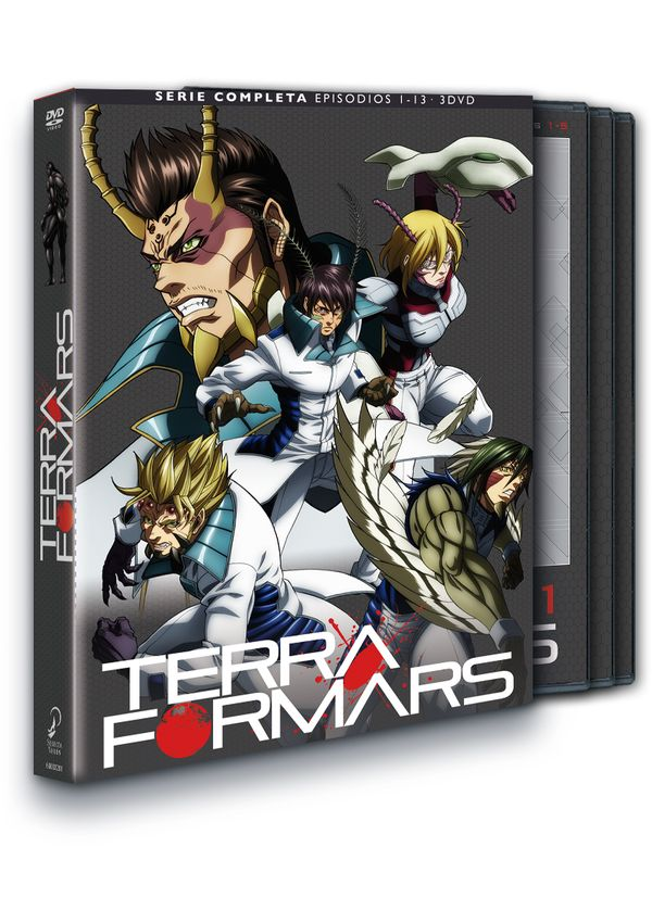 terra formars - dvd - temporada 1 episodios 1 a 13-8420266003201