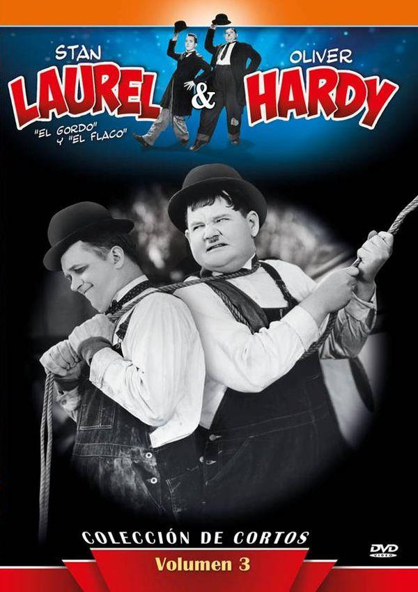 stan laurel & oliver hardy coleccion de cortos - dvd - vol. 3-8436569300350