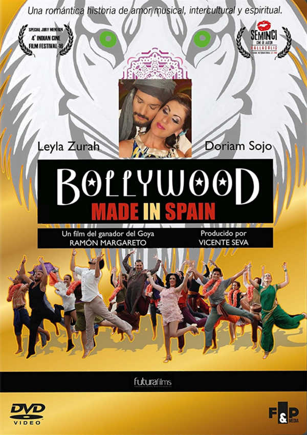 bollywood made in spain - dvd --8414533104630