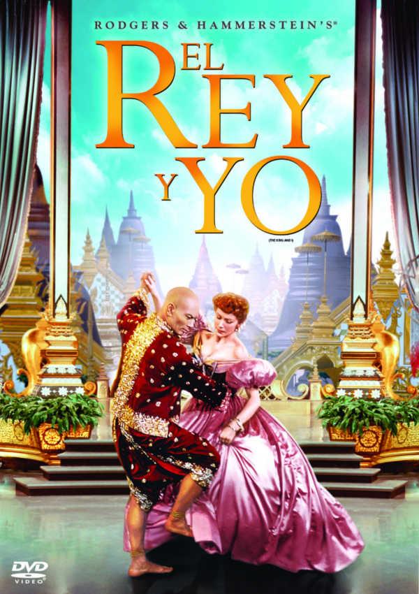 el rey y yo - dvd --8420266007483
