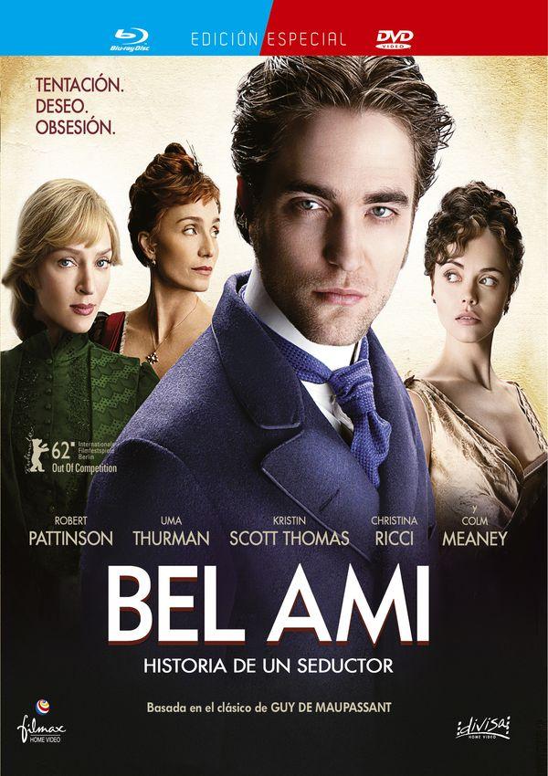 bel ami, historia de un seductor - blu ray + dvd --8421394408364
