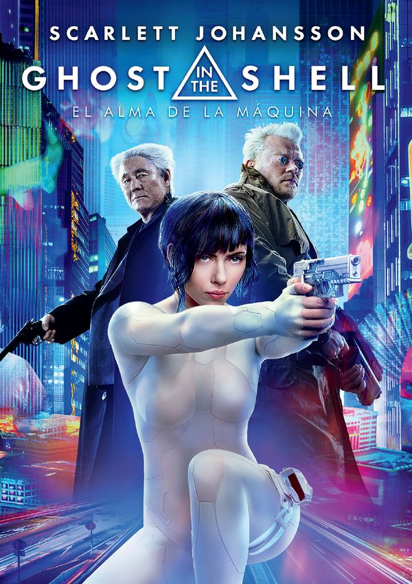 ghost in the shell: el alma de la maquina - dvd --8414533106146