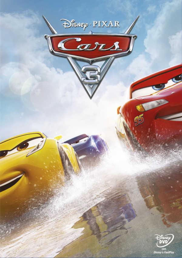 cars 3 - dvd --8717418510015