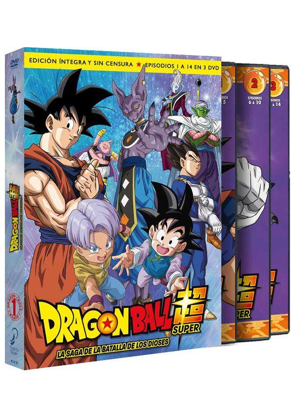 dragon ball super. box 1. la saga de la batalla de los dioses - dvd --8420266008534