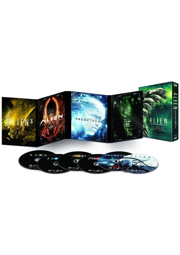 pack alien 1-6 - dvd --8420266011688