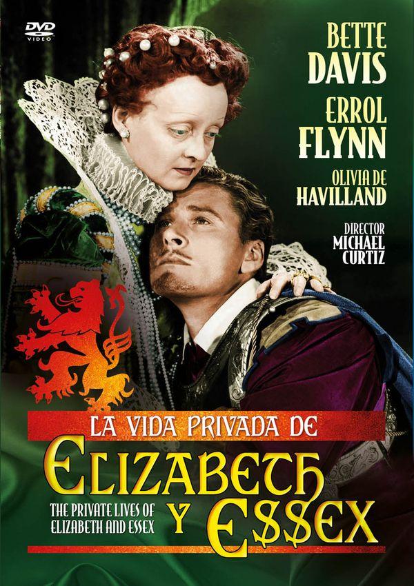 la vida privada de elizabeth y essex - dvd --8436558196032