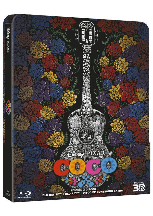 coco - blu ray 3d - ed.steelbook-8717418522339