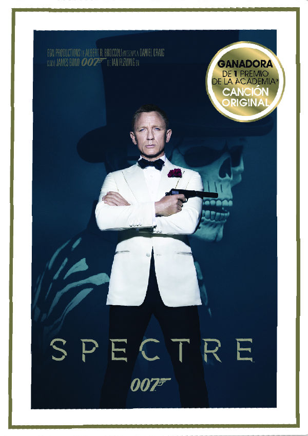 spectre - dvd --8420266014573
