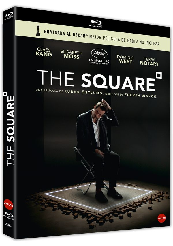 the square - blu ray --8436564164162