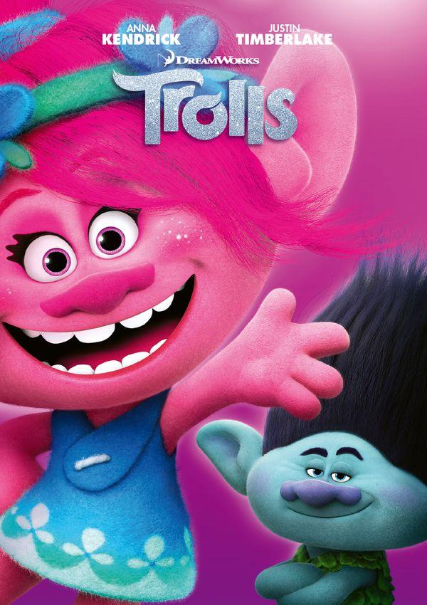 trolls - dvd --8414533114189