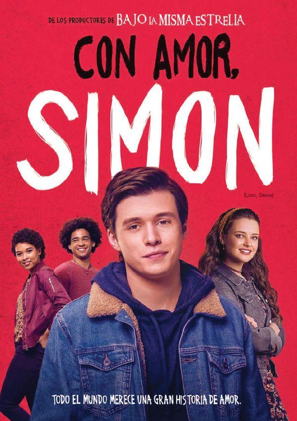 con amor simon - dvd --8420266017505
