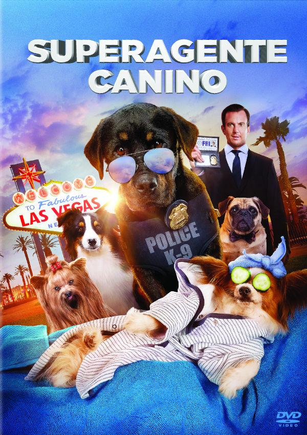 superagente canino - dvd --8414533116954