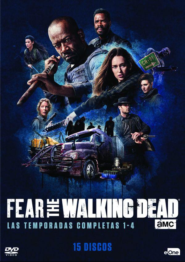 PACK FEAR THE WALKING DEAD - DVD - TEMPORADA 1 - 4 de Dave Erickson ...
