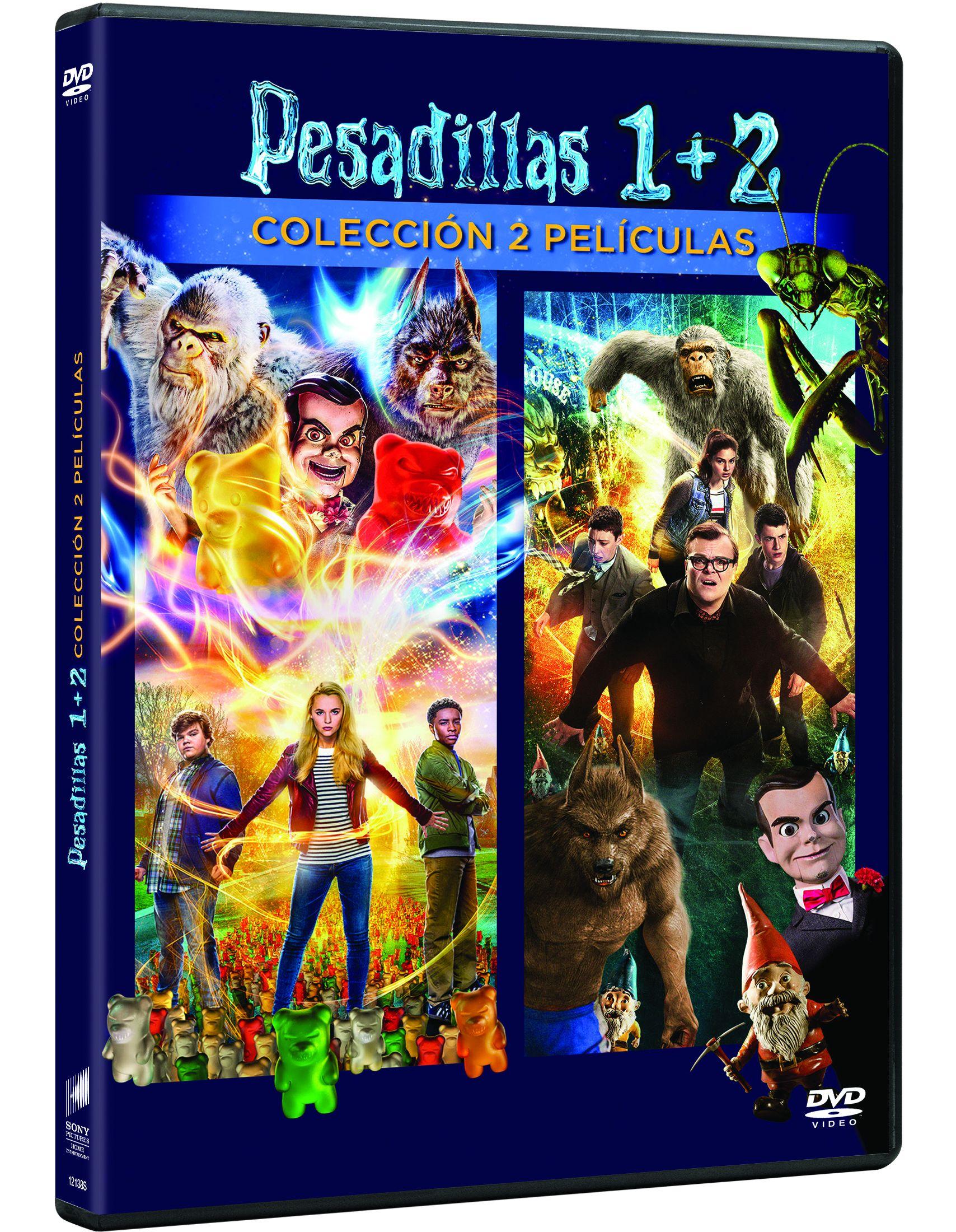 pack pesadillas 1-2 - dvd --8414533121385
