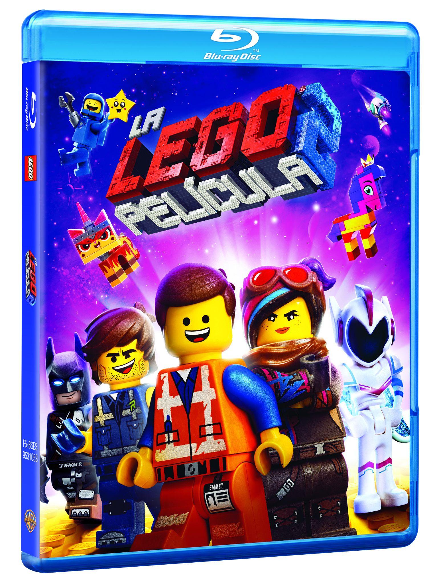 la lego® película 2 - blu ray --8420266023087